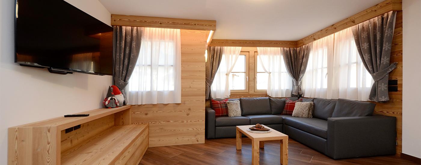 Appartamento Dolomites   Soggiorno