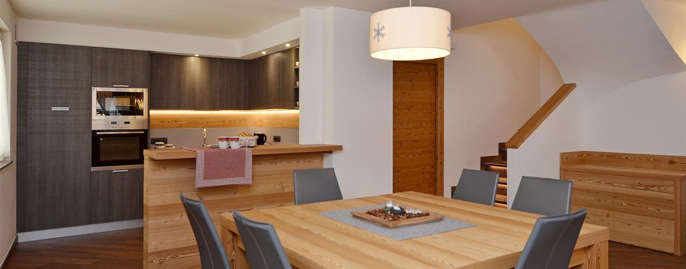 Appartamento Dolomites   Cucina