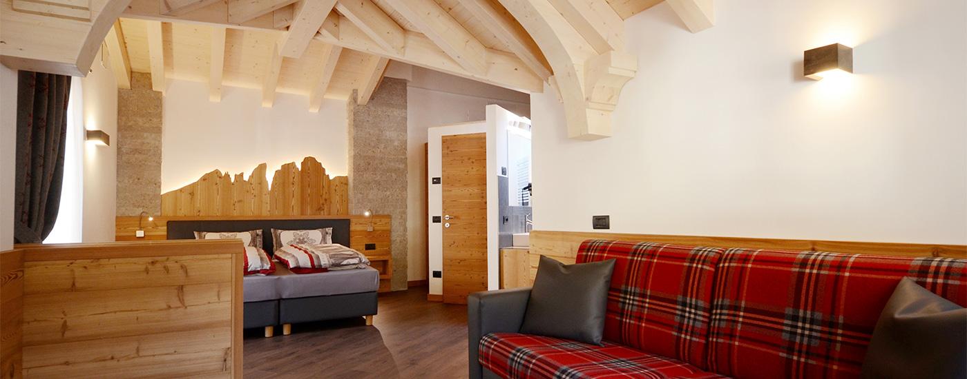 Appartamento Dolomites   Camera da letto